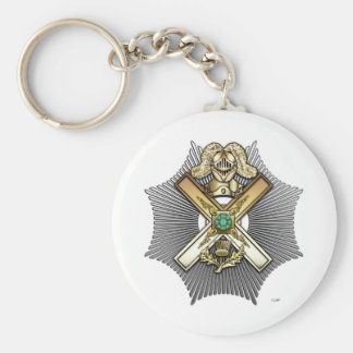 29th Degree: Knight of Saint Andrew Basic Round Button Keychain