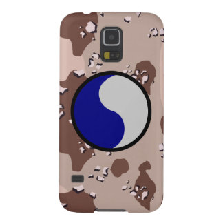 """29th Infantry Division """"29 Lets Go!"""" Desert Camo Case For Galaxy S5"""