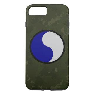 "29th Infantry Division ""Dark Green Camo"" iPhone 7 Plus Case"