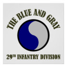 29th Infantry Division Poster