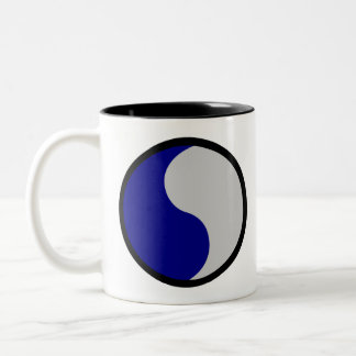 29th Infantry Division Two-Tone Coffee Mug