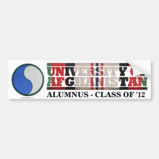 29th Infantry Division U of Afghanistan Sticker