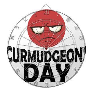 29th January - Curmudgeons Day Dart Board