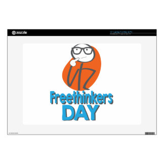 29th January - Freethinkers Day Decal For Laptop