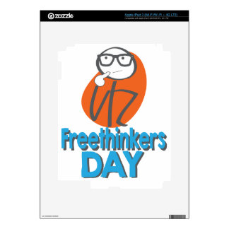 29th January - Freethinkers Day iPad 3 Skin