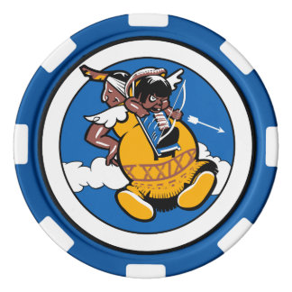 29th Weapons Squadron Poker Chip - TAS Edition