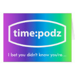 2,000,000,000 seconds card (timepodz front)