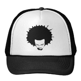2.0 iNK Afro Avatar Trucker Trucker Hat