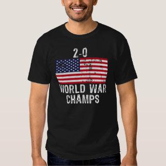 2-0 WORLD WAR CHAMPS TEE SHIRT
