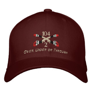 2-104th Cavalry Iraq Crossed Sabers Hat