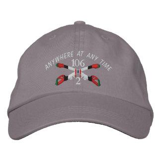 2-106th Cavalry Afghanistan Crossed Sabers Hat