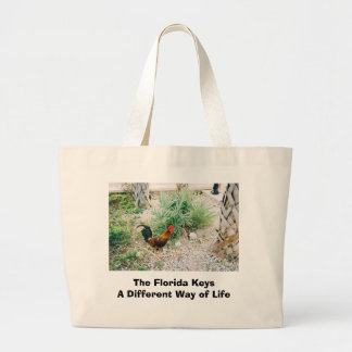 2-12-2007 (2)-07, The Florida KeysA Different W... Large Tote Bag