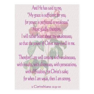 2 12:9 de los Corinthians - 10 Postal
