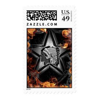 2-12 infantería timbre postal