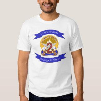 2-14 subida a la camiseta de la gloria poleras