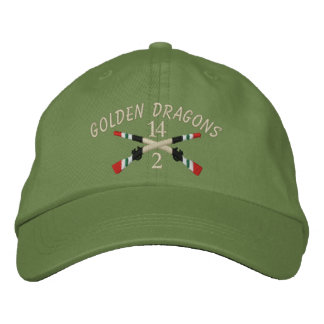 2-14th Infantry Iraq Crossed Rifles Embroidered Baseball Cap