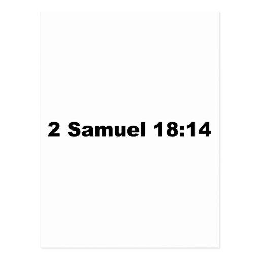 2 18:14 de Samuel Tarjeta Postal