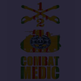 2/1st Cavalry M113 Combat Medic Shirt shirt