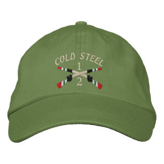2-1st Infantry Iraq Crossed Rifles Embroidered Hats