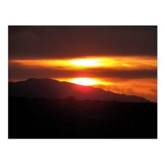 2/20/12 puesta del sol en el congreso, Arizona Postal