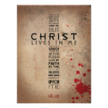 2:20 de Galatians Poster