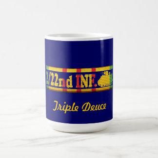 2 22nd Inf 25th Inf Div VSR Triple Deuce Mug