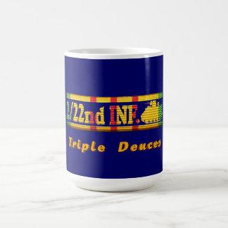 2/22nd Inf., 25th Inf. Div. VSR Triple Deuces Coffee Mug