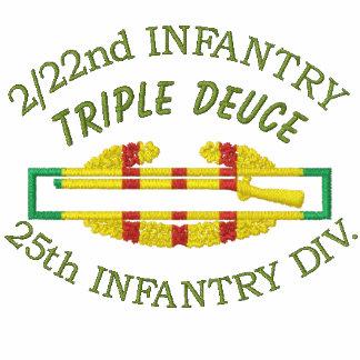2/22nd Infantry Vietnam Service Ribbon CIB Shirt