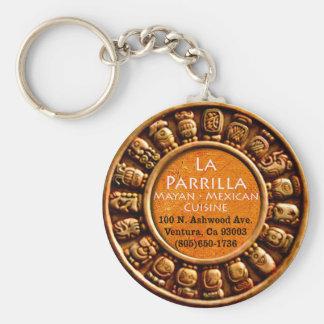 "2.25"" La Parrilla Mexican Food Keychain"
