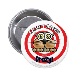 2 25 no ensucia con el botón loco pin