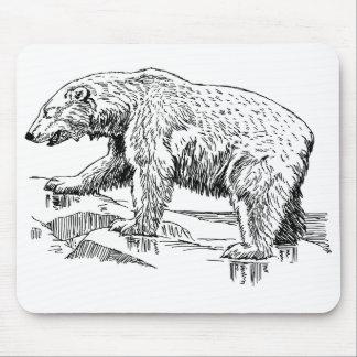 2-27 día internacional del oso polar alfombrillas de ratón