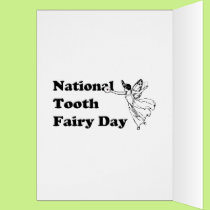 2-28 National Tooth Fairy Day Card