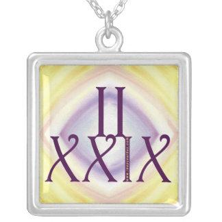 2 29 en los números romanos pendientes