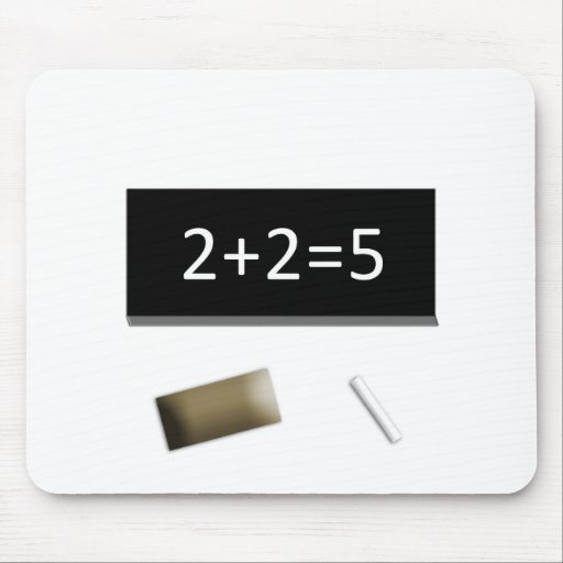 2+2=5 MOUSE PAD