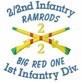 2/2nd Infantry 1st ID VSM Crossed Rifles Shirt