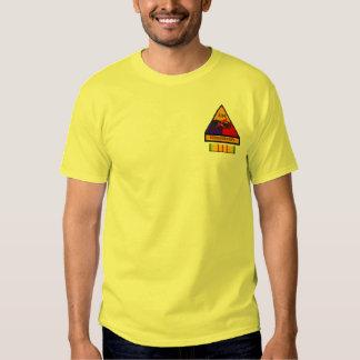 2/34o Camisa divisional de los remiendos de