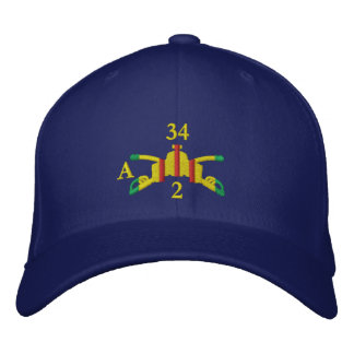 2/34th Armor Branch Insignia and Call-Sign Hat
