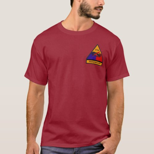 234th Armor Dreadnaughts Dark Shirt