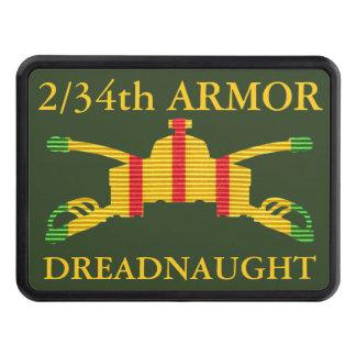 2/34th Armor Insignia Vietnam Hitch Cover