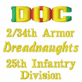 2/34th Armor Vietnam DOC Combat Medic CMB Shirt
