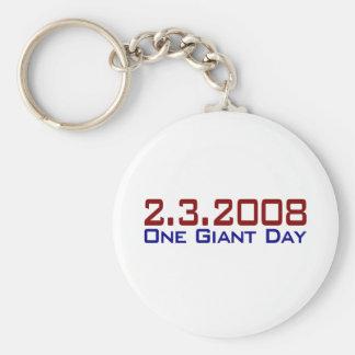 2-3-2008 One Giant Day Keychain