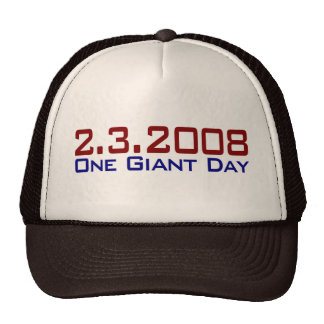 2-3-2008 un día gigante gorras