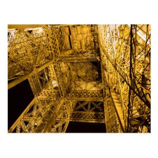 2/3 encima de la torre Eiffel Tarjeta Postal
