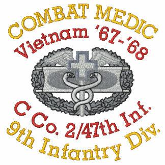 2 47o Camisa del médico del combate de Vietnam
