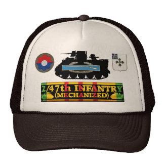 2/47o Inf. M113 (Mech), CIB y gorra de las insigni