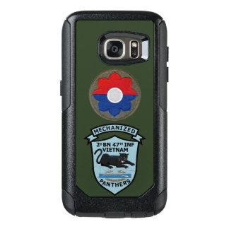 2/47th Inf., 9th Inf. Div. Patches Galaxy S7 Case