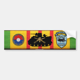 2/47th Inf. M113 New Patches Sticker Bumper Stickers
