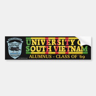 2/47th Inf. Panther - U of South Vietnam Sticker