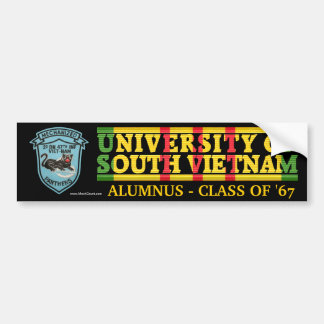 2/47th Inf. - U of South Vietnam Alumnus Sticker