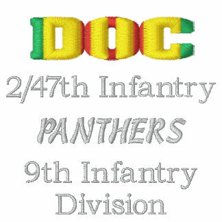 2/47th Inf. Vietnam DOC Combat Medic CMB Shirt